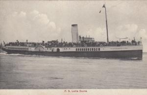 P. S. Lorna Doone, Steamer, Southampton & Isle Of Wight route