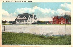 Massachusetts Beverly U S M A A Tennis Courts