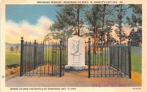 Breymns Redoubt Saratoga, New York