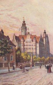 LEIPZIG, Germany, 1900-10s; Rathaus ; TUCK 682 B