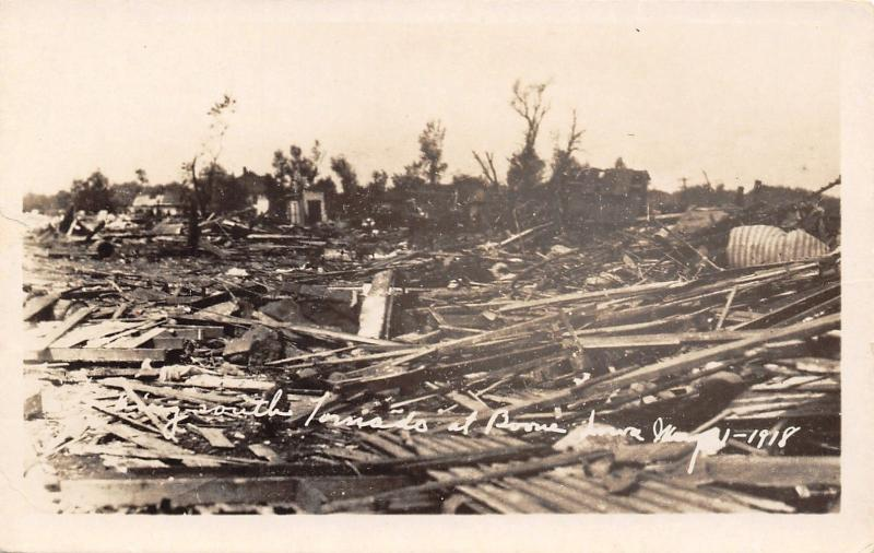 Boone Iowa~Part of Town Decimated by Tornado~6 Killed, $½M Damage