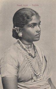 Tamil Ayah , CEYLON , 00-10s
