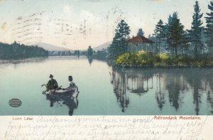 ADIRONDACK MOUNTAINS , New York , 1907 ;  Loon Lake