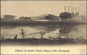 paraguay, PUERTO PINASCO, Fabrica de Tanino (1930s)