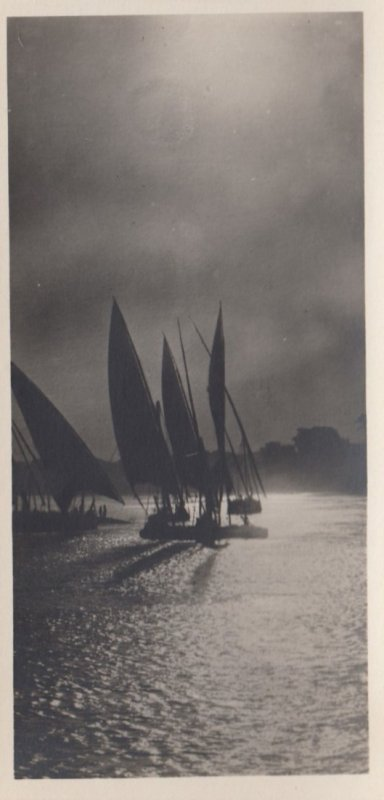 RP: EGYPT , 00-10s ; Cairo , Sunset of the Nile