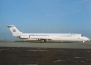 KHORS AIR COMPANY, DC-9-51, unused Postcard