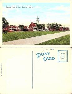 Masonic Home for Boys, Guthrie, Oklahoma