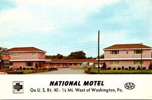 Pennsylvania Washington The National Motel