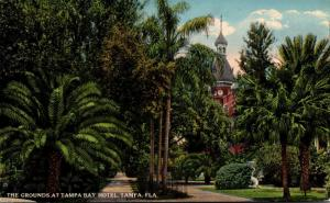 Florida Tampa The Grounds At Tampa Bay Hotel Curteich