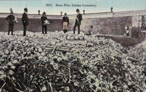 Cuba Havana Bone Pile In The Cemetery sk4648