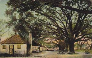 Slevery Days at the Heremitage, Savannah, Georgia, PU-1909