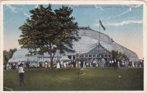 Illinois Chicago The Conservatory Lincoln Park 1915