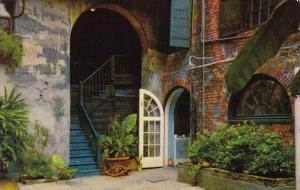 Brulatour Courtyard New Orleans Louisiana