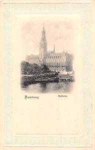 Hamburg Rathaus Town Hall Harbour Boats Schiff