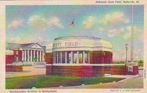 Illinois Belleville Entrance Scott Field Curteich