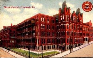 Pennsylvania Pittsburgh Mercy Hospital 1913