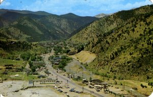 Idaho Springs, Colorado - Panorama of the City - in the 1970s