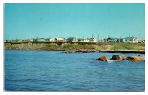 Breakwater Village, Narragansett, RI Postcard