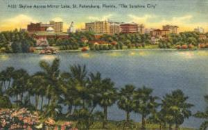 Mirror Lake St Petersburg FL 1952