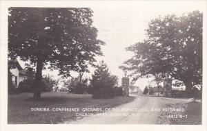 RP: Conference Grounds , Evangelical & Reformed Church , DUNKIRK , New York ,...