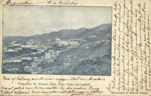 brazil, OURO PRETO, Minas Gerais, Freguezia de Antonio Dias (1904)
