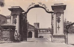 RP: MEXICO, D. F., 30-50s; Entrance, Chapultepec Castle