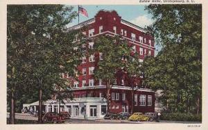 South Carolina Orangeburg Eutaw Hotel Curteich