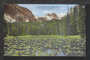 Chickadee Lake,Rocky Mountain Park,CO Postcard