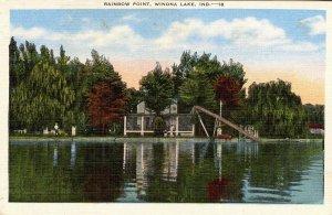 IN - Winona Lake. Rainbow Point (Water Chute)