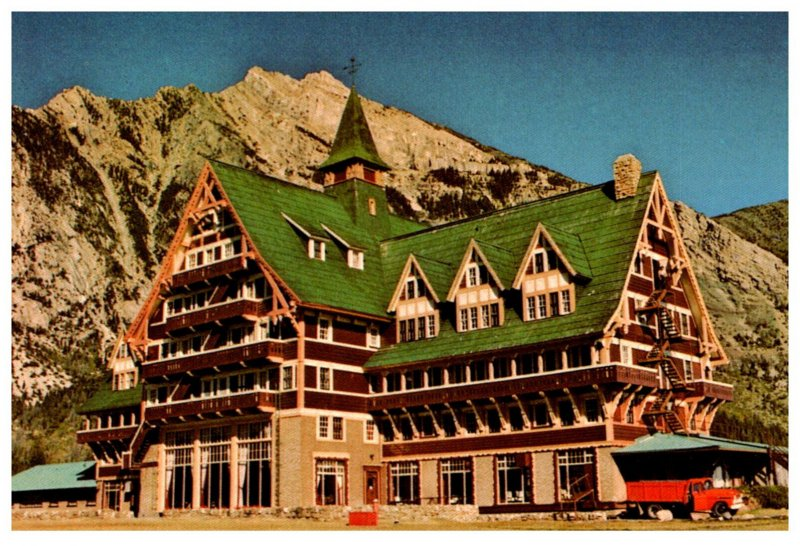 Canada  Waterton ALB.  Prince of Wales Hotel