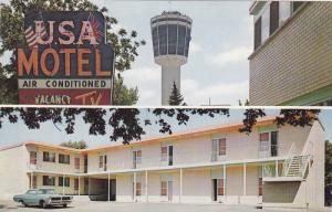 2-Views, U.S.A. Motel, The HUB Of Niagara Beside The Seagram Tower, Niagara F...