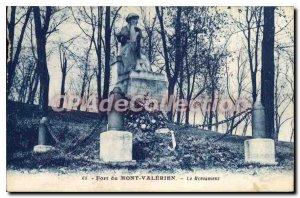 Mont Valerien Postcard Old Port Monument