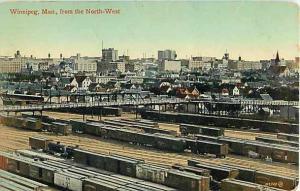 D/B of Railroad Yard & Winnipeg Manatoba MB Canada