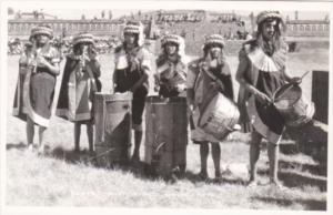 Mexico Teotihuacan Native Indian Musicians Photo
