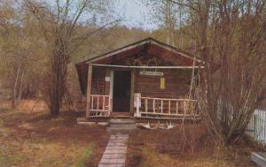 Robert Service Cabin, DAWSON CITY, Yukon, Canada, 40-60's