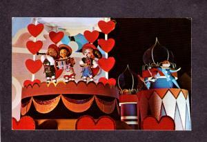 FL Amusement Park Disney World Orlando Florida Postcard Small World Ride