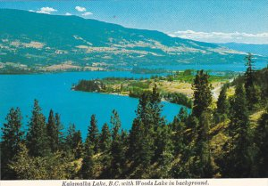 Canada Kalamalka Lake With Woods Lake in Background British Columbia