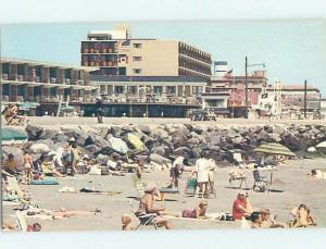 Pre-1980 MOTEL ON THE BEACH Cape May - Near Wildwood & Vineland NJ G5752
