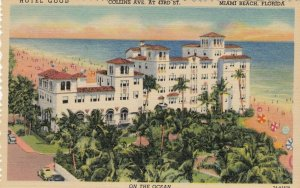 MIAMI BEACH , Florida , 1930-40s ; Hotel Good ; Version-2
