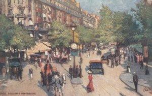 PARIS , France , 1900-1910´s ; Boulavard Montmarte ; TUCK 956 No 58