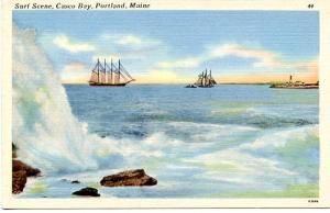 ME - Portland, Casco Bay