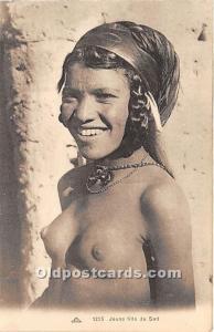 Arab Nude Postcard Jeune fille du Sud Unused