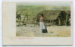 The Real Ramona Fictional Novel Character California 1907c postcard