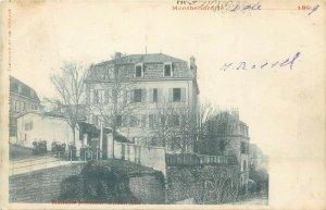 cpa pre 1900s Montbéliard France institution protestante de jeunes filles