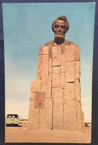Postcard Unused Lincoln Monument Highway US 30 Cheyenne/Laramie WY LB
