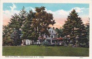 North Carolina Hendersonville Park Hill Hotel