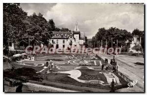 Old Postcard Bagnoles De L'Orne miniature golf and Htel Beausjour
