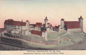 Gesamtansicht Der Kgl. Burg, Nurnberg (Bavaria), Germany, 1900-1910s