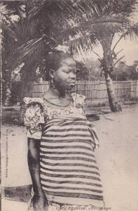 Cote d´Ivoire, PU-1927 ; Femme Agni