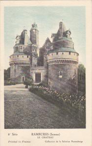 France Rambures Le Chateau